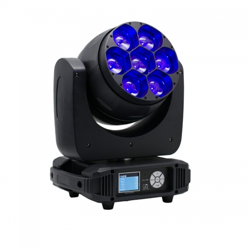 7x40W LED ZOOM MOVING HEAD WASH